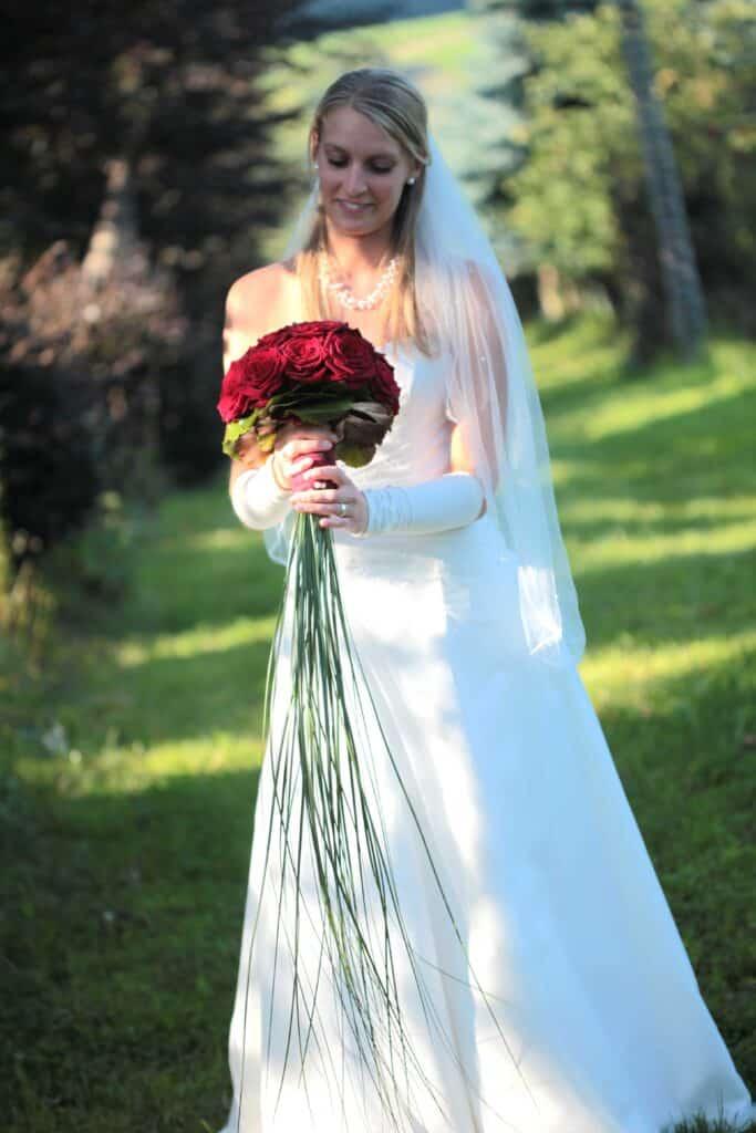 Rosen-Brautstrauß