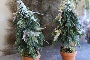 Weihnachtsbaum gesteckt und gebunden-3